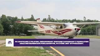 Lot Awionetką Cessna 152 – Poznań video