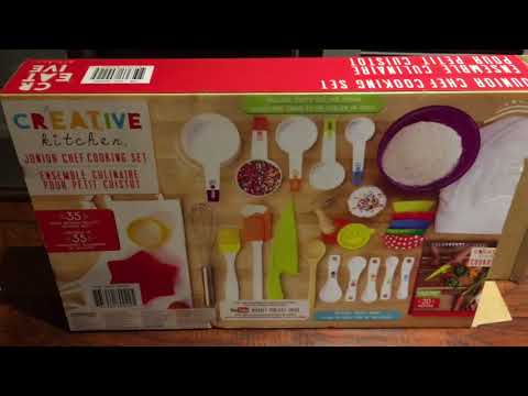 Creative Kitchen Junior Chef Cooking Set - Our Family's Review