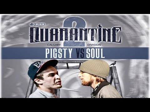 KOTD - Rap Battle - Pigsty vs Soul