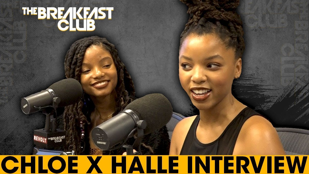 Image result for chloe & halle the breakfast club