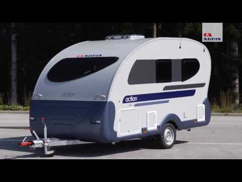 2 3 berth 2007 adria action 341 ph touring caravan show through funnydog tv. Black Bedroom Furniture Sets. Home Design Ideas