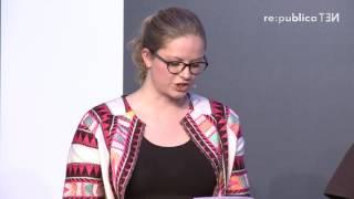 re:publica 2016 – Wähler Poetry: Die Aluhut-Monologe