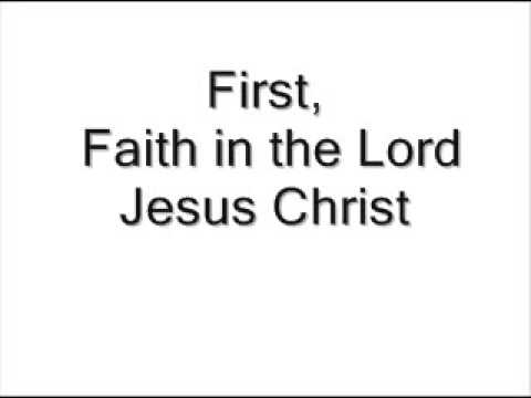 The 13 Articles Of Faith ~ The Church of Jesus Christ of Latter-Day Saints