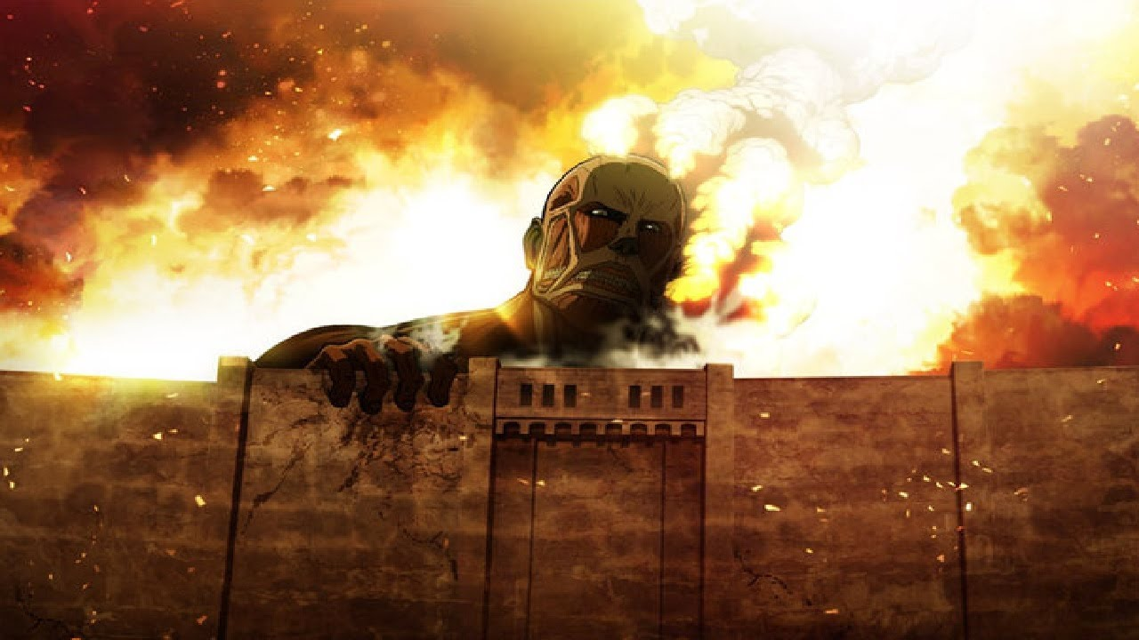 Attack On Titan Mauer