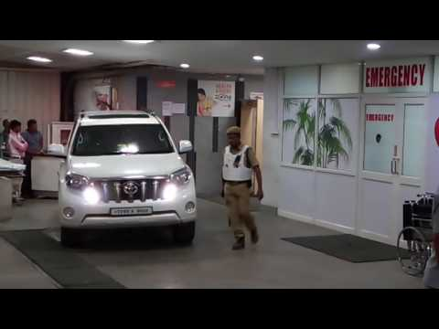 Cm kcr in Yashoda hospital somajiguda