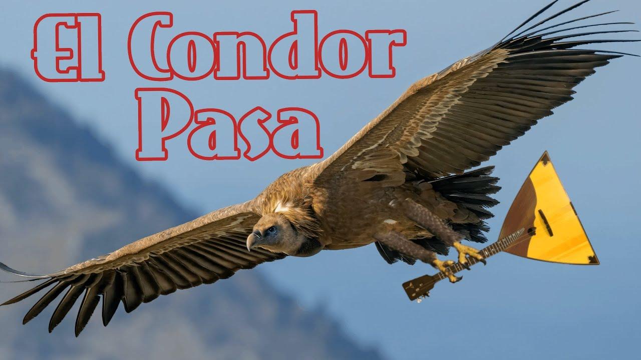 Полет кондора - El Cóndor pasa - на балалайке. Урок 171. Уроки игры на балалайке