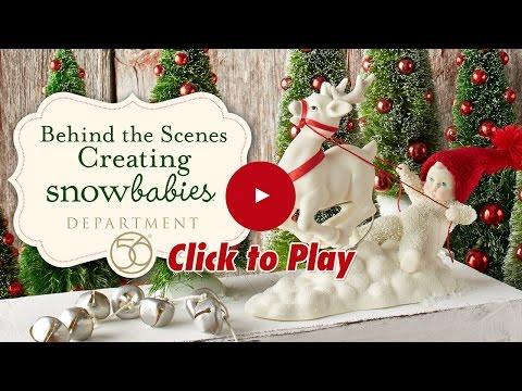 Behind the Scenes: Creating Snowbabies by Department 56
