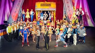 Ringling Bros. Presents Built To Amaze! Music Video