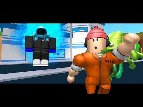 THE BLUE GUEST TAKES OVER JAILBREAK?! ( A Roblox Jailbreak Story)