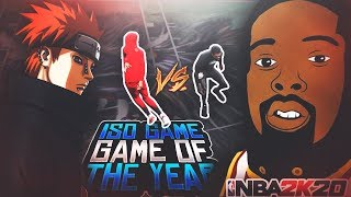 STEEZO VS POORBOYSIN! ALL ISO NBA 2K20! THE FIRST LEGEND OF PS4 ACCIDENTALLY PULLED UP ON ME!?