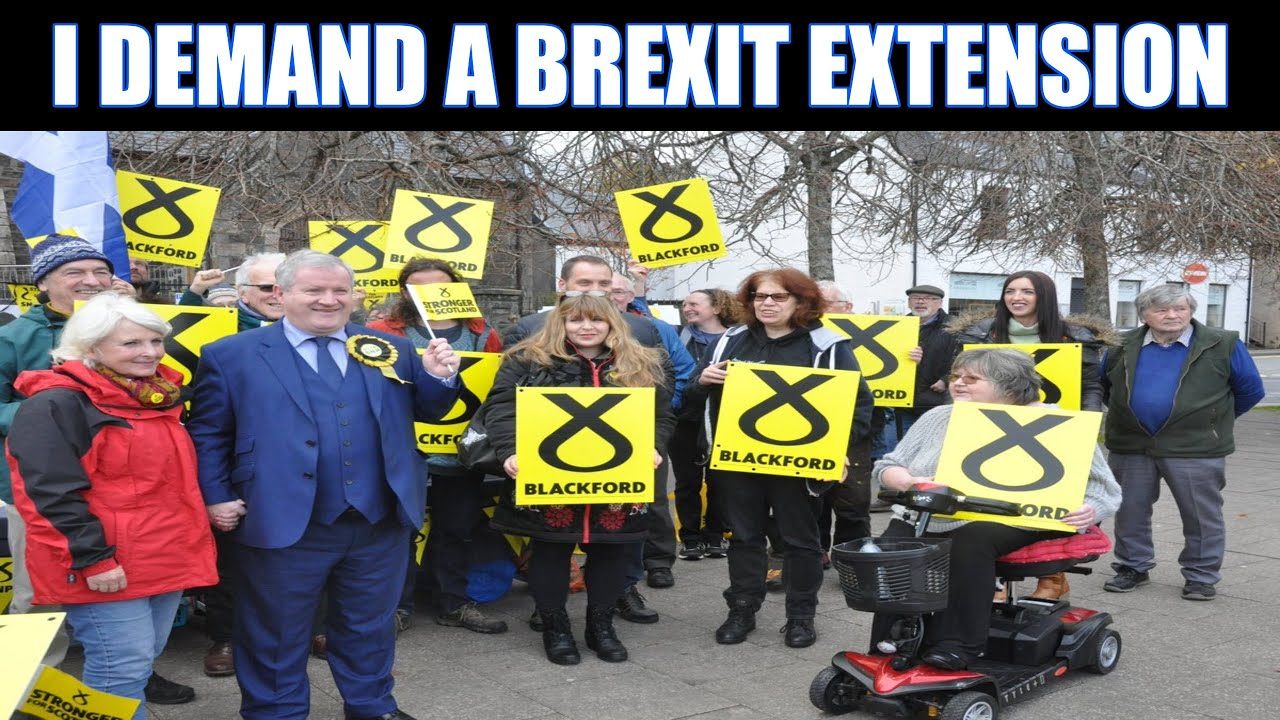 True Genius Ian Blackford Rubbishes His Own Argument For Extending The Brexit Transition Period