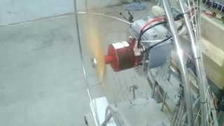 12090 outrunner brushless motor  test-1