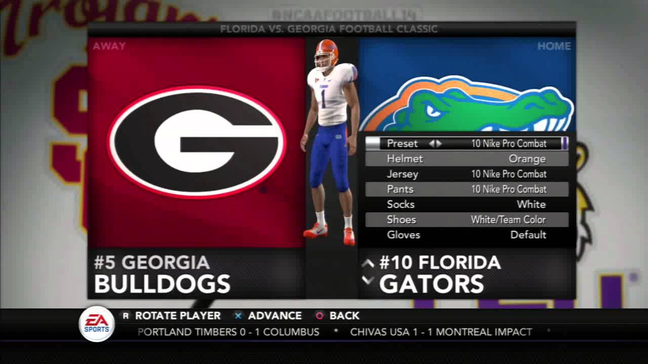 buy popular 3c754 ec017 NCAA Football 14- Florida Jersey Options