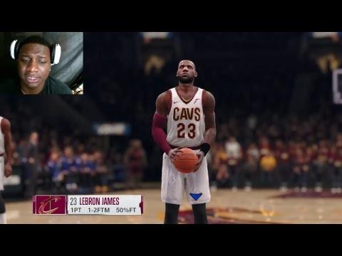 NBA LIVE 18 DEMO LETS GET IT STARTED
