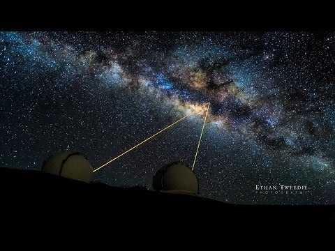 Keck Observatory First Light With New Instrument (Apr ...
