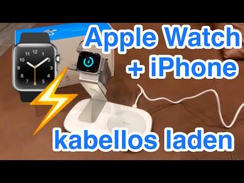 Review Seneo Fast Wireless Charger - iPhone und Apple Watch gleichzeitig kabellos laden