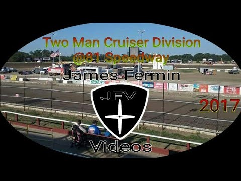 Two Man Cruisers #1, Heat, 81 Speedway, 2017