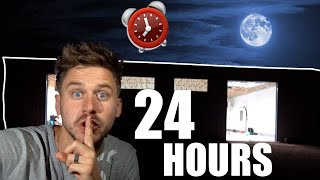 24 Hour Overnight Challenge in our WAREHOUSE!