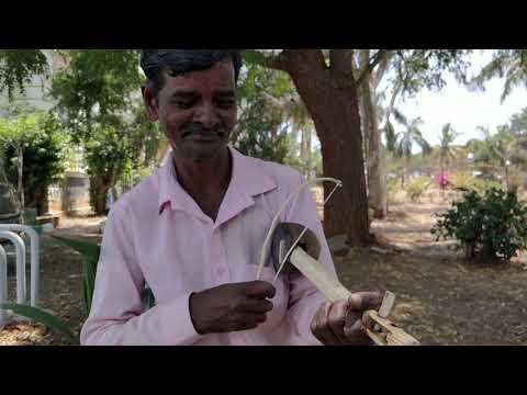 Street artist India Mysore magic Babu - local talent