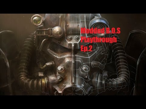 Fallout 4 Modded B.O.S Playthrough Ep 2