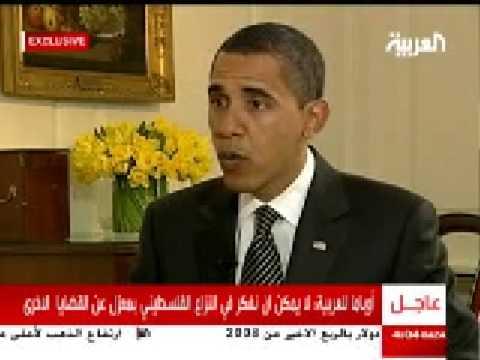 Obama tackles Gaza in tv interview
