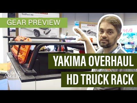 New Truck Racks, Kayak Trailer and RoofTop Tent from Yakima Racks