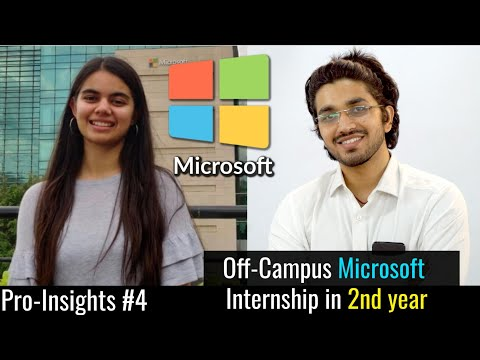 How to crack Microsoft Off-campus placement | #4 Pro-Insights with Aman Dhattarwal