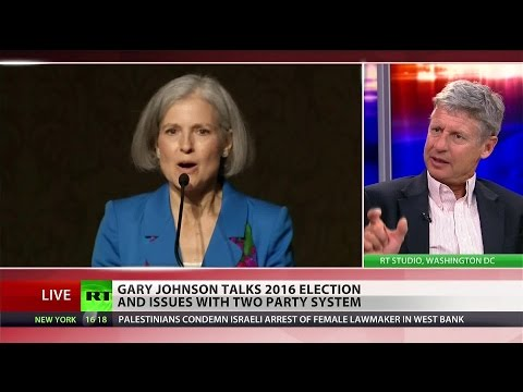 American's want to hear another voice – Gov. Gary Johnson on 2016 election