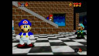 super mario 64 bloopers: HALL 9000