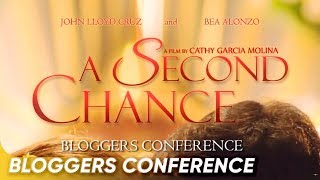 full a second chance   bloggers conference   john lloyd cruz   bea alonzo