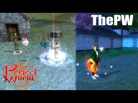 Апгрейд Приста и прокачка Воина в Perfect World на ThePW (Дневник 97)
