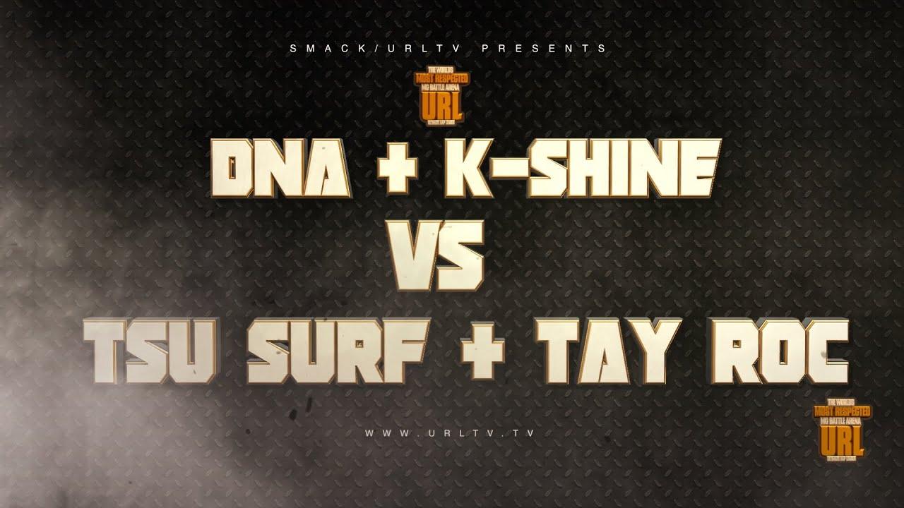TSU SURF/ TAY ROC VS DNA / K SHINE RELEASE TRAILER • HIPHOPHOOK