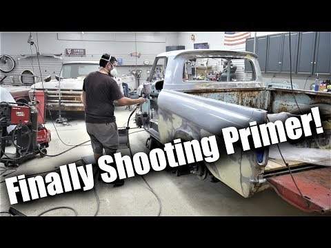 Back to Some Fabrication! | Custom Roll Pan etc. | Shooting Primer and Getting Ready for Color!