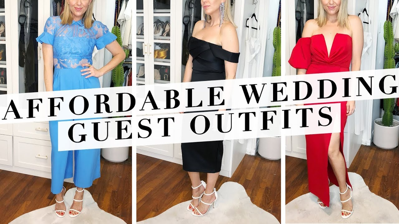 7cf64950faaee The BEST Wedding Guest Outfits Under $150! - YouTube