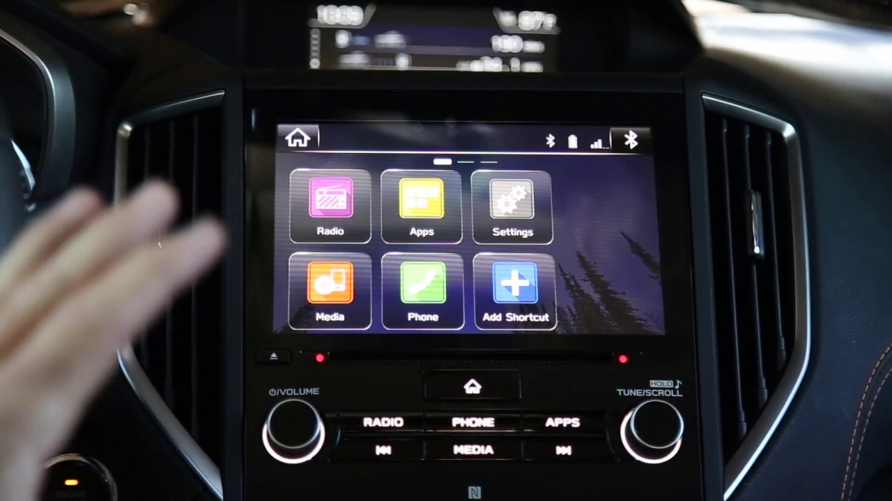 2018 Crosstrek: How to update the Head Unit and Create a driver profile