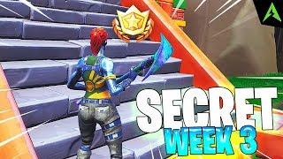 Sahi Secret * WEEK 3 * Season 8 in Fortnite..