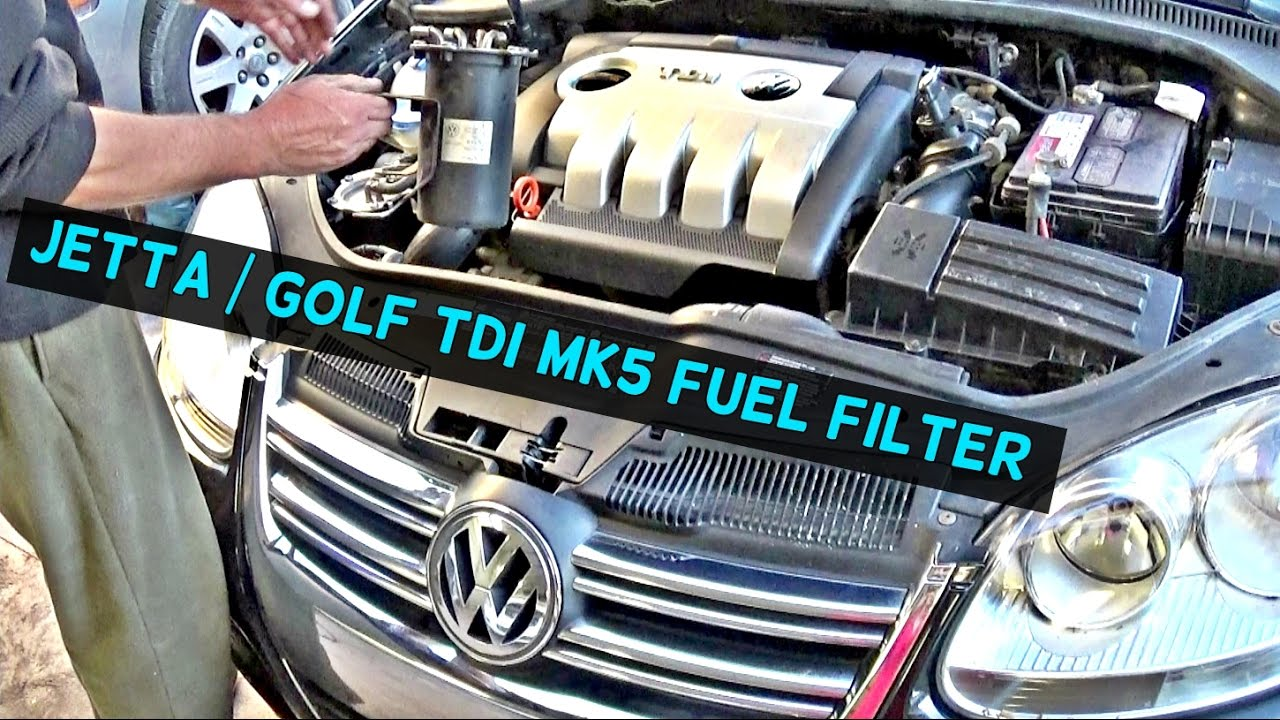 [SCHEMATICS_48IS]  VW JETTA TDI MK5 DIESEL FUEL FILTER REPLACEMENT VW GOLF TDI - YouTube | 2007 Vw Jetta Fuel Filter |  | YouTube