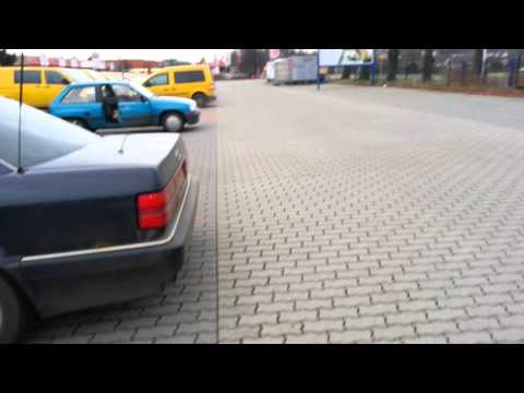 Sound Orgasm with Audi V8 4.2 Type D11 Without Middle Mufflers