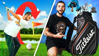 What's inside my golf bag & how far I hit them