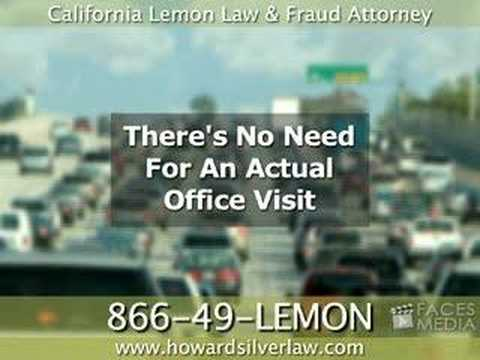 California Lemon Law & Fraud Lawyer - overview