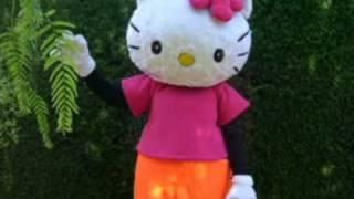 baila chuchua hello kitty bob esponja mickey