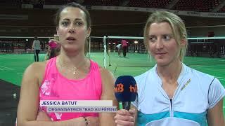 Badminton : découverte 100% féminine au Vélodrome National