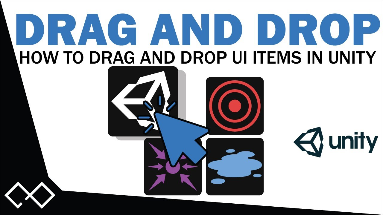 Unity Drag and Drop Tutorial - How To Drag and Drop UI Elements in Unity 5  | Unity 5 UI Tutorial