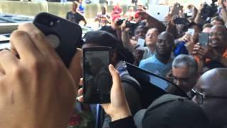 Arrivée de Didier Drogba à Montréal