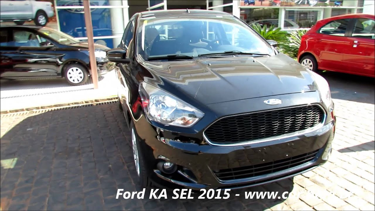 ford ka sel 2015 topo de linha detalhes youtube. Black Bedroom Furniture Sets. Home Design Ideas