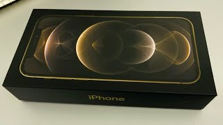 iPhone 12 Pro unboxing experience