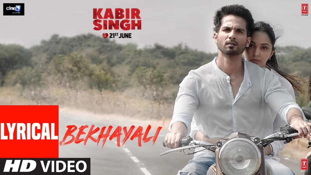 Bekhayali Song Lyrics Kabir Singh Wrytin