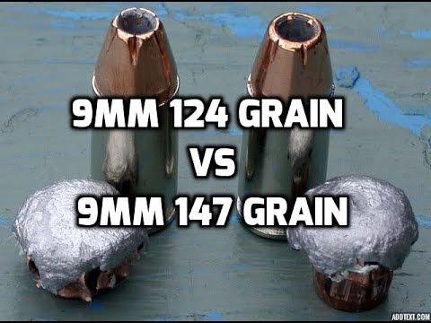9MM 124 Grain Vs 147 Grain