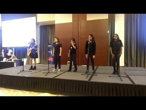 DUBAI MUSIC SCHOOL group 'MAGNA5' Thousand Years at Address hotel Duai Marina