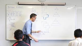 Patterns & Rules (2 of 2: Unpacking the algebraic expressions)